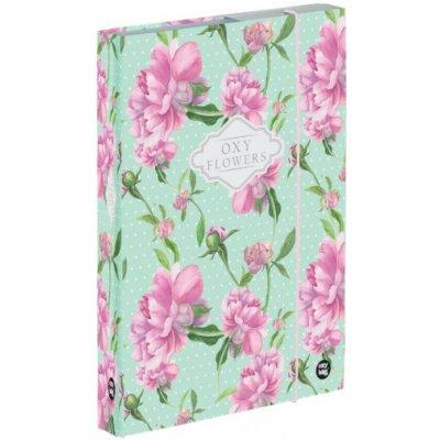 Karton P+P A4 Flowers 5-75021