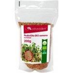 Zdravý den Bio ředkvička semena na klíčení 200 g