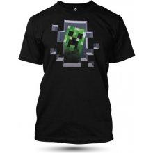 Minecraft Creeper Inside Black