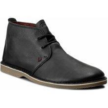Kotníková obuv GUESS - Alex FMALX3 LEA09 BLACK