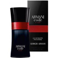 armani code list
