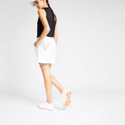INESIS sukně se šortkami na golf do teplého počasí bílá