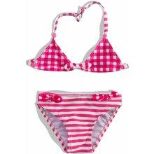 87a89cebf26 Dívčí dvoudílné plavky PEBBLESTONE růžové