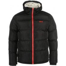 Everlast Hooded Bomber jacket mens black