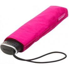 Plochý skládací deštník Malibu růžový