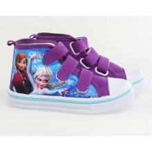 Setino dívčí kotníčková obuv Frozen fialové