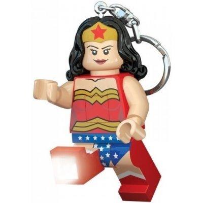 Přívěsek na klíče LEGO LED DC Super Heroes Wonder Woman svítící figurka