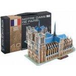Hütermann 3D Puzzle skládačka Notre Dame 40 dílků