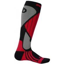 Sensor ponožky Snow Pro černá/červená/šedá
