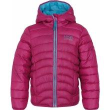 Udatel dětská zimní bunda růžová