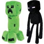 Plyšák Minecraft Creeper zelený 18 cm