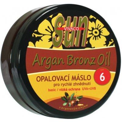 SunVital Argan Bronz Oil máslo na opalování SPF6 200 ml
