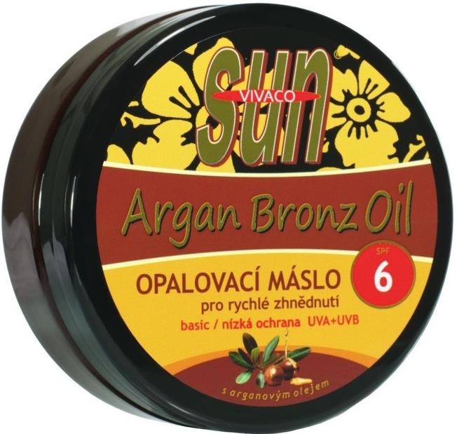 Recenze SunVital Argan Bronz Oil máslo na opalování SPF6 200 ml