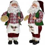 Vánoční figurka - Santa OLAVI 45 cm, Euro Trading Euro Trading 4260416042292