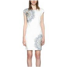Desigual dámské šaty Shanon bílá 7409ad30384