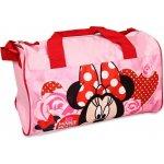 Setino sportovní taška Minnie Mouse růžová