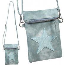 kabelka taška dámská crossbody zelená khaki