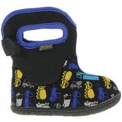 Dětská bota Bogsfootwear Dětské boty Baby Bogs Classic Track - Black Multi 239514e665