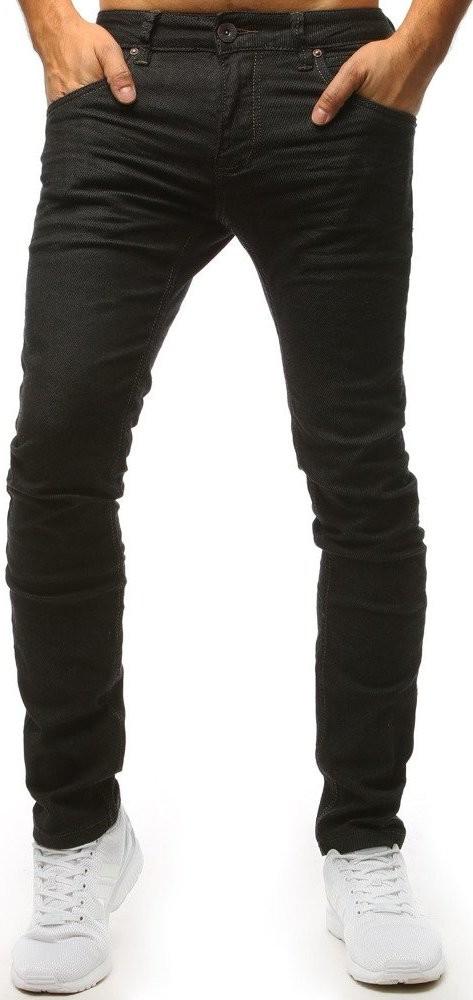f846483c6df Basic Černé džíny s hnědým prošíváním ux1488 od 1 039 Kč - Heureka.cz
