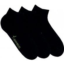 dámské letní bambusové ponožky RS černá