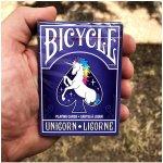 Bicycle Unicorn hrací karty