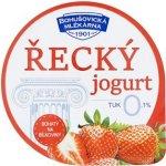 Bohušovická mlékárna Řecký jogurt jahodový 130g
