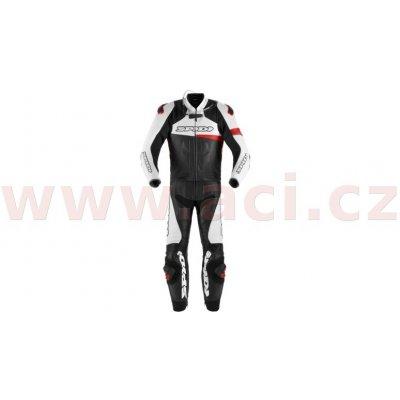Dvoudílná kombinéza Spidi Race Warrior Touring černá/bílá/červená