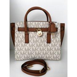 d13e0a5b014f Michael Kors Hamilton Large Traveler Tote Luggage vanilla ...