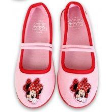 Setino dívčí baleríny Minnie růžové
