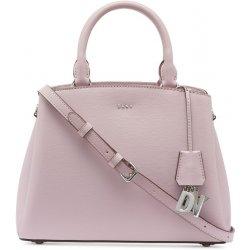 e41137f40f DKNY Paige satchel kožená kabelka medium light lavender silver ...