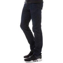 Diesel Mens Buster Regular Slim Tapered Jeans Denim