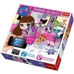 Trefl Puzzle + APP games 75101 - Little Pet Shop - 80 dílků