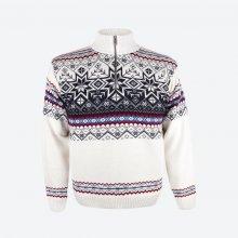 KAMA svetr bez podšívky 4071 bílý