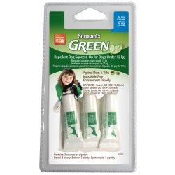 Sergeanťs Green spot on pro psy do 12kg 3x2,5ml