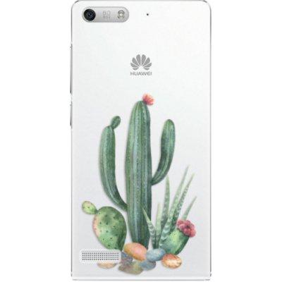 Pouzdro iSaprio Cacti 02 - Huawei Ascend G6