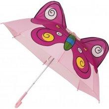 Dětský holový deštník MOTÝLEK