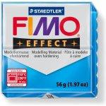 FIMO Modelovací hmota Effect transparentní modrá 56 g