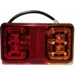 Zadní LED svítilna na přívěsný vozík L+P 12/24V 16LED