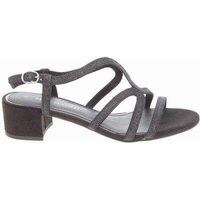 Marco Tozzi společenské sandály 2-28201-20 black comb