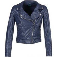 8d92dfc35f0 Benetton Ferdoni kožená bunda modrá