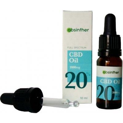 Absinther CBD olej 20% 10 ml - 3 ks