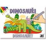 Jiri Models Dinosauři Omalovánky A5