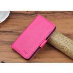 Pouzdro J&R Meizu MX5 knížkové růžové