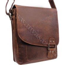 Green Wood pánská kožená taška 846GH-KHA hnědá