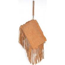 kabelka z pravé broušené kůže 81 Taupe