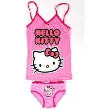 09e23625b77 LSEU Souprava košilka a kalhotky Hello Kitty barva růžová 100 % bavlna