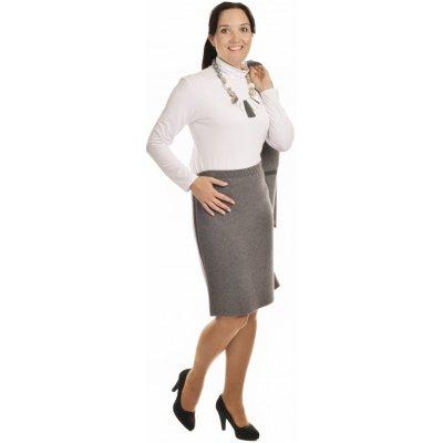 AL1750 dámská sukně do gumy tmavě šedá
