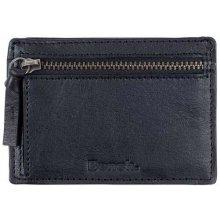 Bench Leather Card Coin Holder Black Beauty BK11179 peněženka