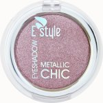 E style Eye Shadow Metallic Chic Refil 4 Fine Roses 6 g