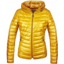 GALLOP s kapucí žlutá Dámská jarní bunda